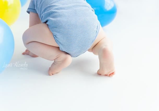 bebê menino com tip top azul book bebe 1 ano fotografia laura alzueta estúdio fotográfico pinheiros são paulo