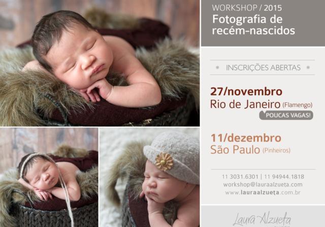 workshop de fotografia newborn
